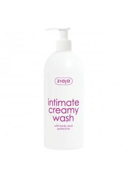 Loción cremosa de higiene íntima con ácido láctico (dispensador) - Ziaja