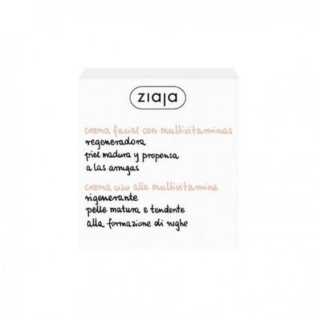 Multivitaminas crema facial hidratante - Ziaja