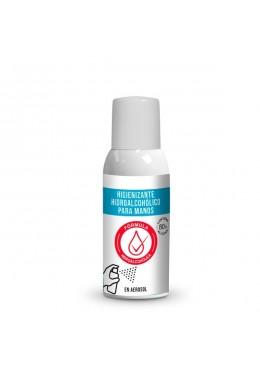 Higienizante hidroalcohólico para manos en aerosol 100ml