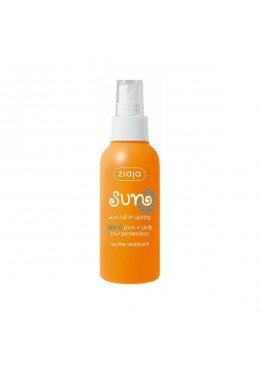 Aceite solar en spray SPF6