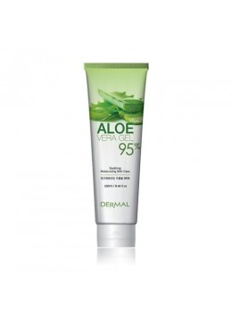 Aloe Vera Gel 95% Tube - Dermal Korea