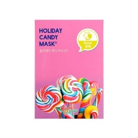 Holiday Candy Mask - Candy'O Lady