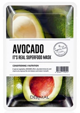 Avocado Mask - Dermal Korea