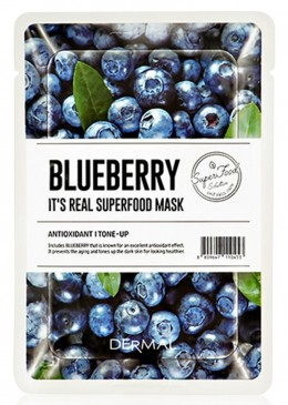 Blueberry Mask - Dermal Korea