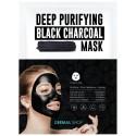 Deep Purifying Black Charcoal Mask - Dermal Korea