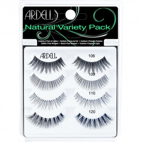 Pack Variety 4: Natural - Ardell