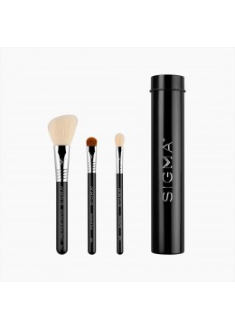 ESSENTIAL TRIO BRUSH SET BLACK - Sigma