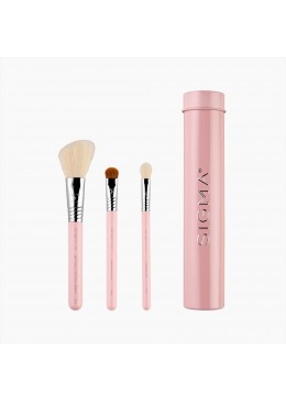 ESSENTIAL TRIO BRUSH SET PINK - Sigma