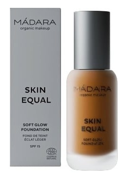 Base de Maquillaje SPF 15 Skin Equal Tono 80 Fudge– MÁDARA