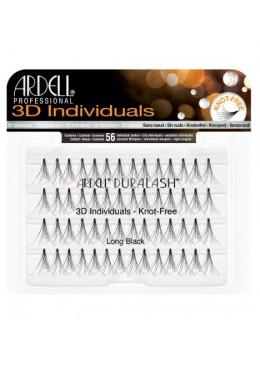 3D Individuals Long - Pestañas en grupo sin nudo - Ardell