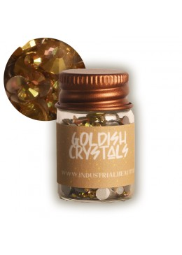 IB GLITTER - GOLDISH CRYSTALS 6ML - FALL LIMITED EDITION