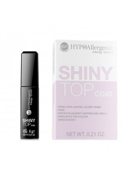 HYPO Top Coat para uñas hipoalergénico Shiny