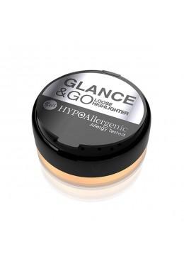 HYPO Iluminador en polvo hipoalergénico Glance&GO 01 Gold Rush