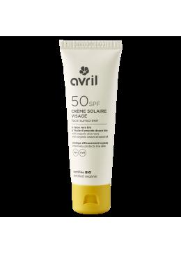 Protector Solar Facial SPF50 50ML -AVRIL