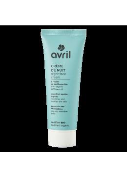 Crema Facial para piel Sensible y Seca Noche -AVRIL