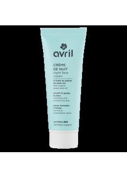 Crema Facial para piel Normal Noche -AVRIL