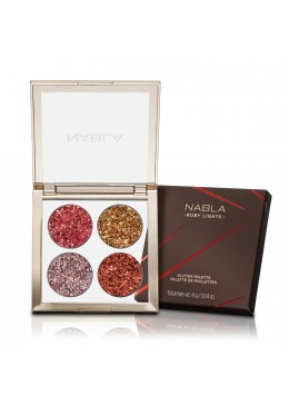 Ruby Lights Glitter Palette - NABLA