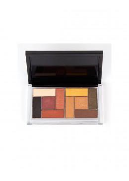 Paleta sombras de ojos Pressed Pigment - Bell Pro