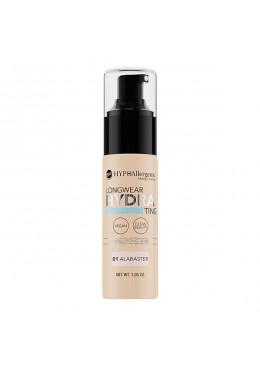 Base de maquillaje hipoalergénica Long Wear HYDRA 01 Alabaster - BELL HYPO