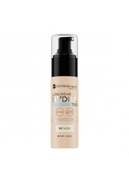 Base de maquillaje hipoalergénica Long Wear HYDRA 02 Nude - BELL HYPO