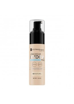 Base de maquillaje hipoalergénica Long Wear HYDRA 03 Natural - BELL HYPO