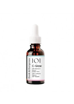 SERUM C-GLOW 15% VIT C + AC. FERÚLICO 30ML- GEEK & GORGEOUS