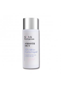 EXFOLIANTE SMOOTH OUT 12% AHA + Cactus Nopal 30ML- GEEK & GORGEOUS