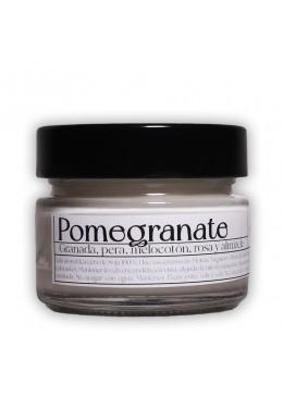 Vela aromática de soja: Pomegranate 120g - Industrial Beauty