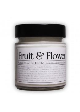 Vela aromática de soja: Fruit&Flowers 200g - Industrial Beauty