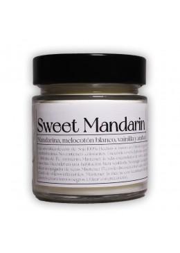 Vela aromática de soja: Sweet Mandarine 200g - Industrial Beauty