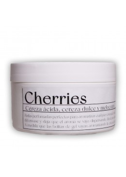 Ambientador en gel - Cherries 200ml - Industrial Beauty
