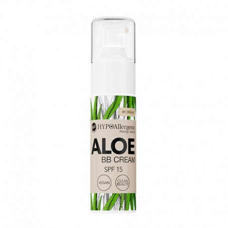 BB Cream hipoalergenica ALOE SPF15 Tono 01 - Bell HYPO
