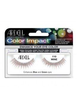 PESTAÑAS COLOR IMPACT 110 WINE - ARDELL