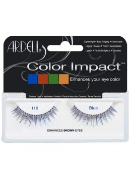 PESTAÑAS COLOR IMPACT 110 BLUE - ARDELL