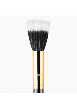F55 SMALL DUO FIBER BRUSH BLACK/18K GOLD - SIGMA