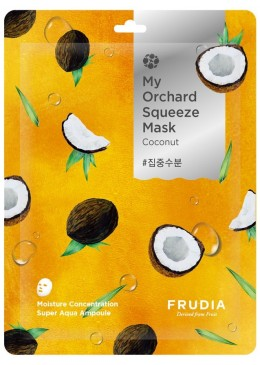 SQUEEZE MASK COCONUT MY ORCHARD - FRUDIA