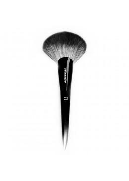 C3 Sculpt & Shade Fan Brush - COZZETTE