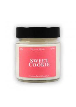 Vela aromática de soja: Sweet Cookie 230g - Industrial Beauty