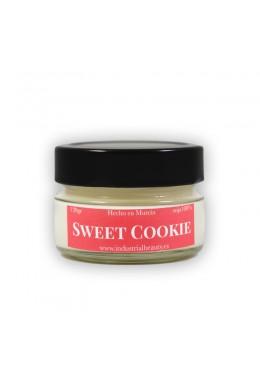 Vela aromática de soja: Sweet Cookie 120g - Industrial Beauty