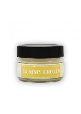 Vela aromática de soja: Gummy Fruits 120g - Industrial Beauty