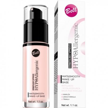 HYPO Prebase de maquillaje Matificante y Suavizante hipoalergénica Mat&Smooth - Bell HYPO
