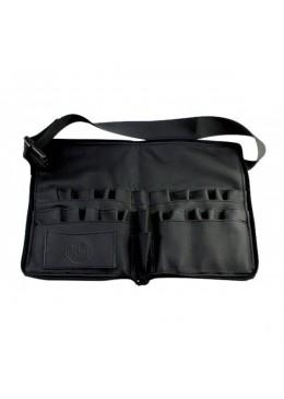 Manta Cinturón de brochas con cremallera - Negro