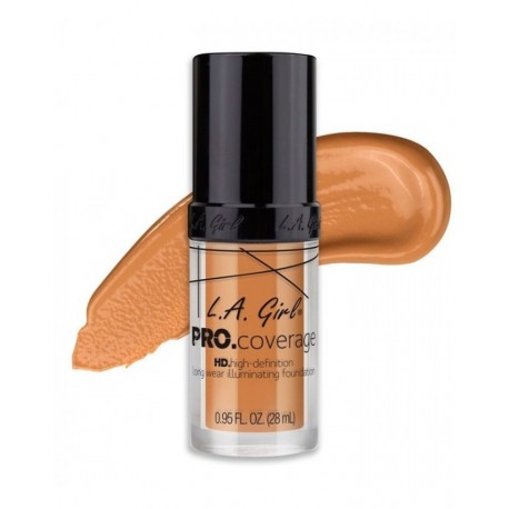 "L.A. Girl Base Pro Coverage Illuminating ""Nude Beige"""