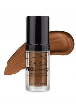 "L.A. Girl Base Pro Coverage Illuminating ""Dark Chocolate"""