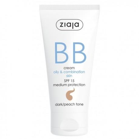 BB Cream pieles grasas y mixtas SPF15 Tono Oscuro - Ziaja