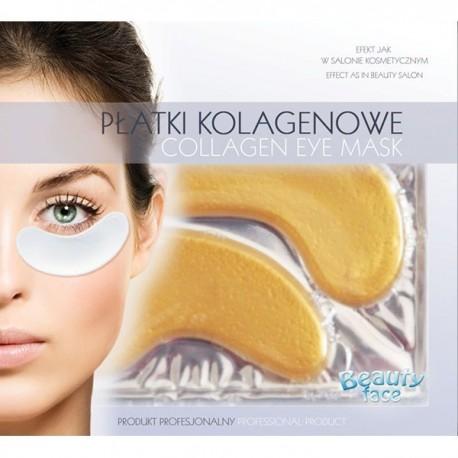 Parches de colágeno antiarrugas para el contorno de ojos con ORO24K Y ÁCIDO HIALURÓNICO