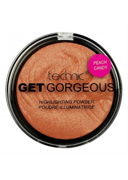 Technic Get Gorgeous Highlighting Powder - Peach Candy