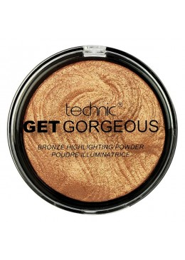 Technic Get Gorgeous Highlighting Powder - 24CT Gold