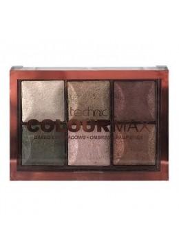 Technic Colour Max Baked Eyeshadows - Cappucino
