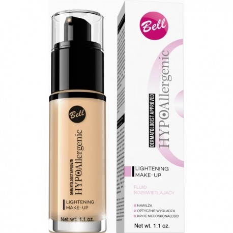 HYPO Base de maquillaje iluminadora hipoalergénica Lightening 02 - Bell HYPO